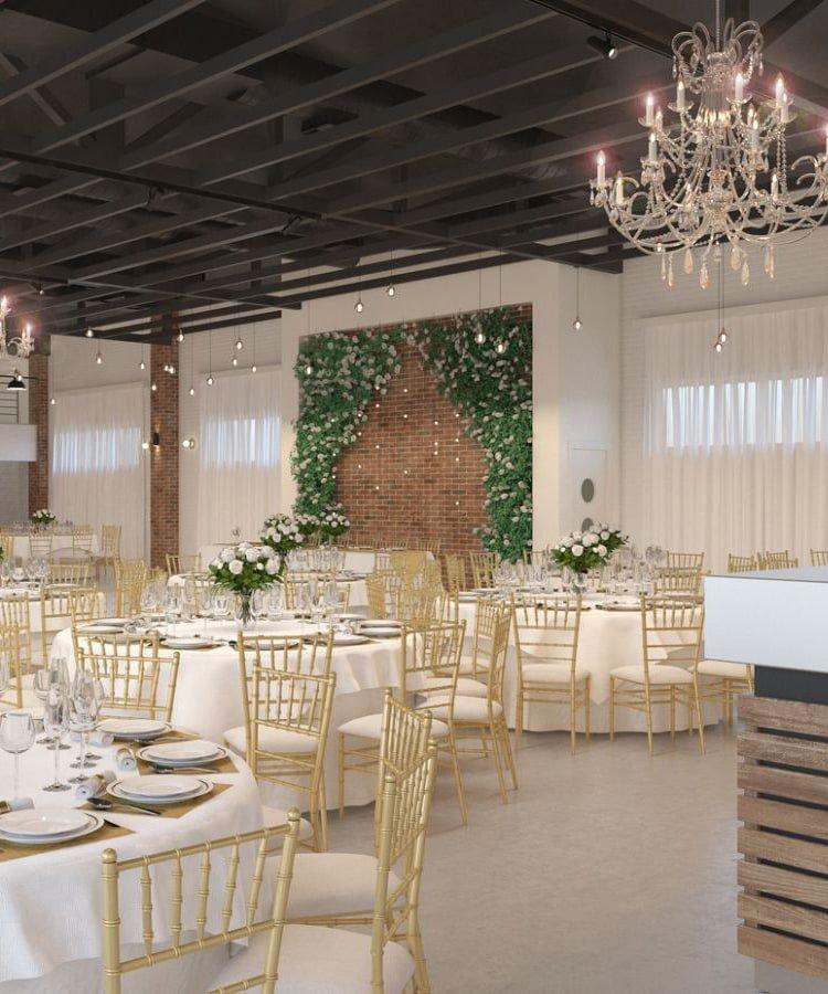 Izgleda i dekoracija restorana za svadbe Love House na Zvezdari